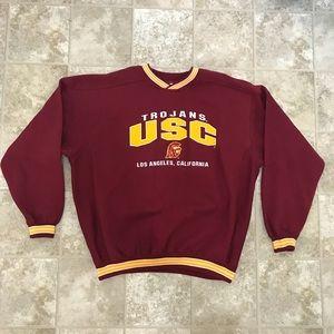 Nutmeg Mills USC Trojans Sweater Sz XL